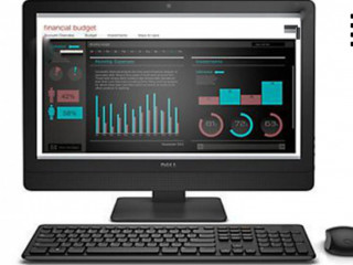 Моноблок All in One DELL 9030 AIO / i3-4150 / 3.5ghz / Матовый